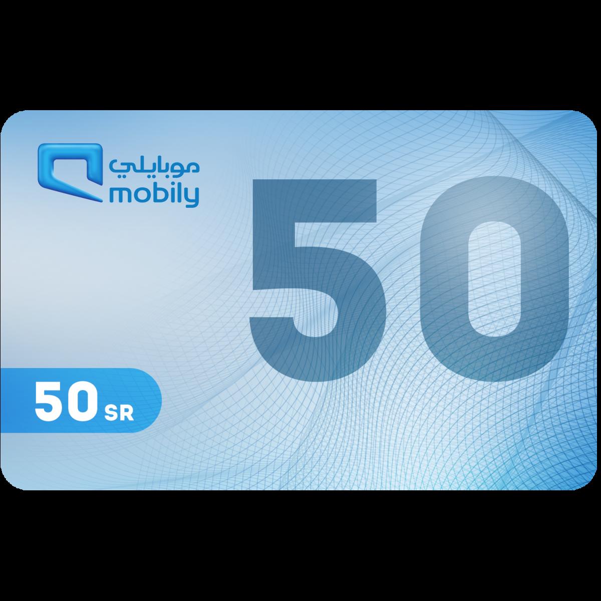 بطاقة شحن موبايلي 50 ريال Fast Circles For Commercial Services Est